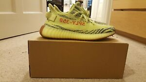 Adidas Yebra 5 Semi Boost Frozen Yeezy 350 Yellow V2 Uk8 SSxnTqr