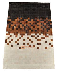 Pelo di Mucca Teppeto Patchwork 180 x 120 cm Tappeto pelle di Mucca ...