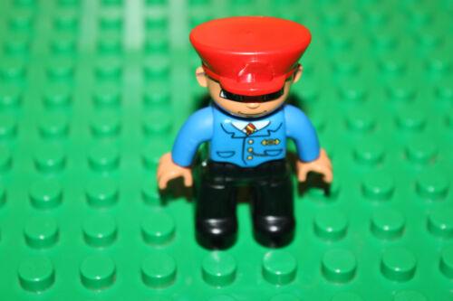 Eisenbahn Waggon K30 Zug Schaffner Lego Duplo Eisenbahn Zugbegleiter