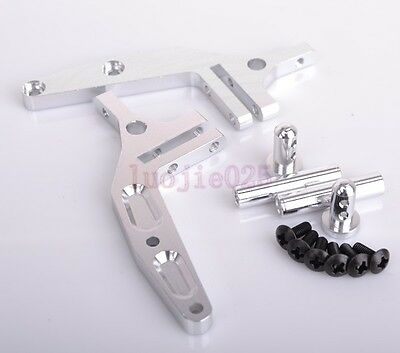 106044 HSP Wing Stay Silver For RC 1/10 Model Buggy (06017) Upgrade Parts 166044
