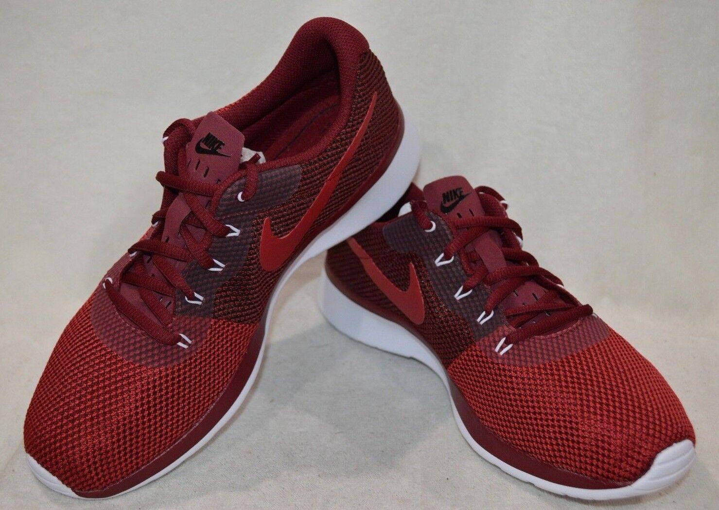 Nike tanjun racer rosso / nero / bianco asst le scarpe da corsa rosso / nero / bianco 921669-600 nwb
