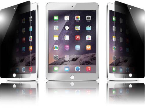 iPad Mini 3 2 1 Privacy Anti-Spy Tempered Glass Screen Protector Guard Shield