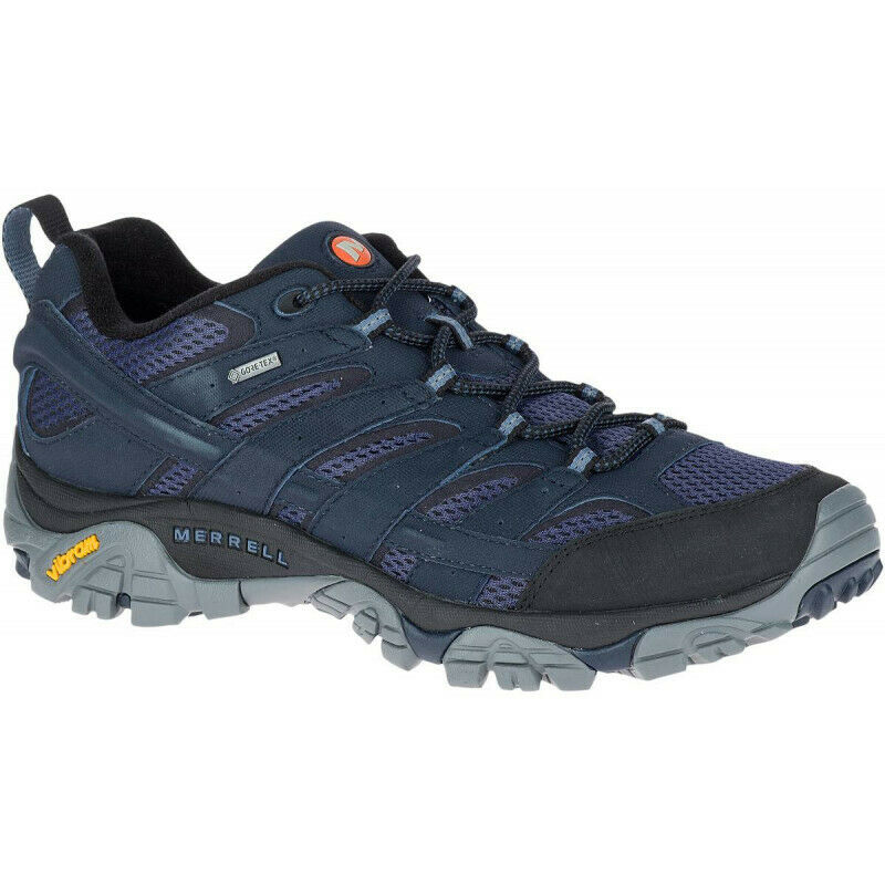 Mens Merrell  Moab 2 Gore-tex Mens Walking shoes - Navy  sales online