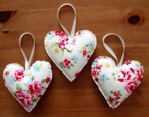 Fabric Heart Decoration Handmade Brown Home & Garden Other Home Décor