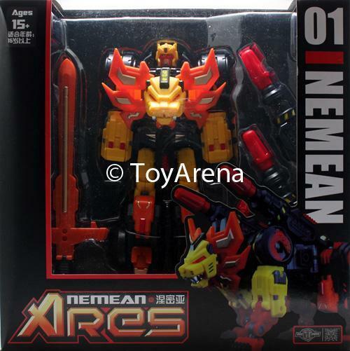 TFC Toys Project Ares TFC-01 Ares Nemean Transformers Action Figur