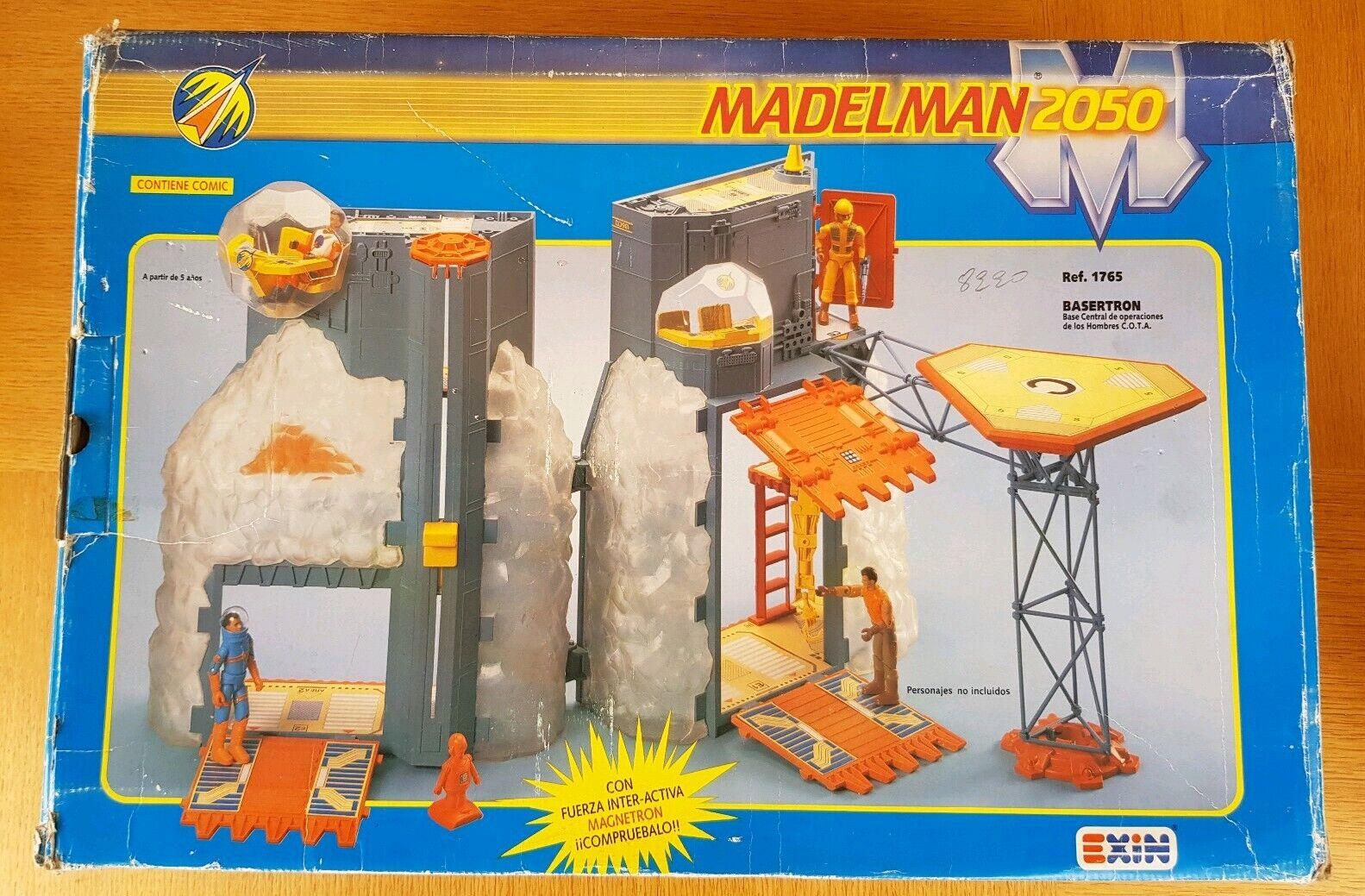Madelman 2050 c.o.t.a basertron Jugarset En Caja Completa Gi Joe Estrella Wars 1988