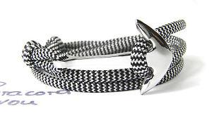 Ancre-bracelet-surfeur-Bracelet-reglable-en-acier-inoxydable-anker-paracord