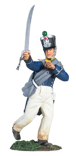 William Britain Napoleonic French Light Infantry Voltigeur Advancing 17971