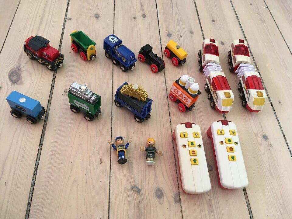 Tog, togbane og fjernbetjeninger