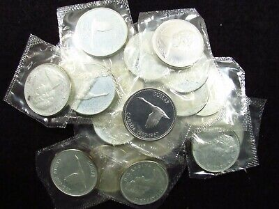 1967 50¢ silver prooflike coin that is uncirculated in original mint cello
