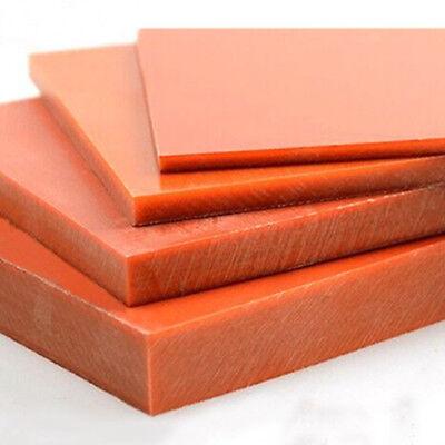 200x200x15mm Bakelite Phenolic Flat Plate Sheet Insulation Board PCB Gears