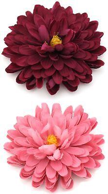 Zest Large Peony Flower Hair Slide Clip Corsage Magenta Pink