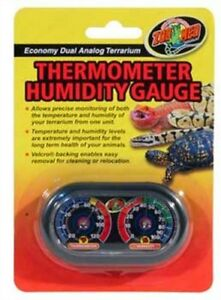 Zoo-Med-Economy-Analog-Dual-Thermometer-and-Humidity-Gauge