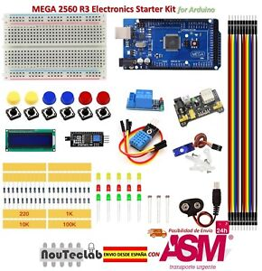 Upgrade-Kit-MEGA-2560-R3-Breadboard-LED-LCD-SG90-DHT11-Relay-MB102-for-Arduino