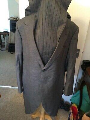 Logico Men's Formale Mattina Coda Suit By Buckleigh Di Londra- Costo Moderato