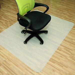 tapis protection sol protege roulette chaise fauteuil bureau pour parquet maison ebay. Black Bedroom Furniture Sets. Home Design Ideas