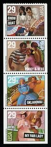 2770a-29c-Broadway-Musicals-Se-Tenant-Strip-Mint-ANY-4-FREE-SHIPPING