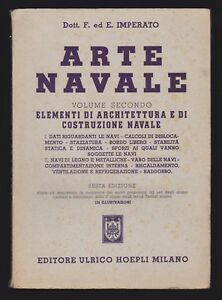 ARTE-NAVALE-VOLUME-2-IMPERATO-HOEPLI-1957-C-313