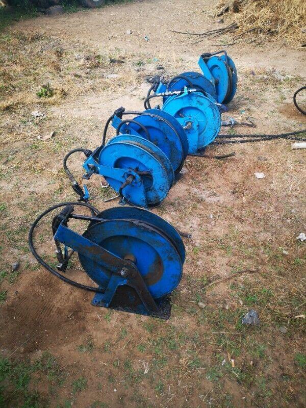 USED Hydraulic Oil Hose Reels