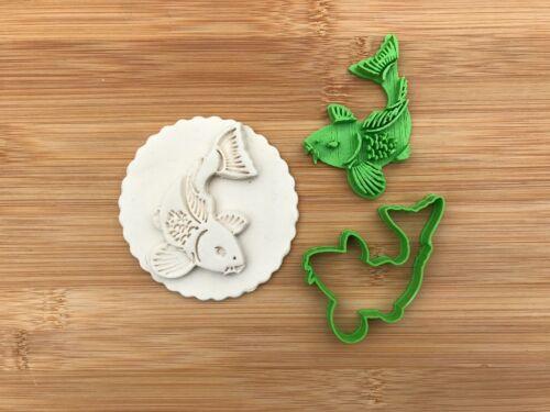 UK environ 12.70 cm 4-5 in Carpe Poisson UK Cookie Cutter Fondant Cupcake Gâteau 2-3