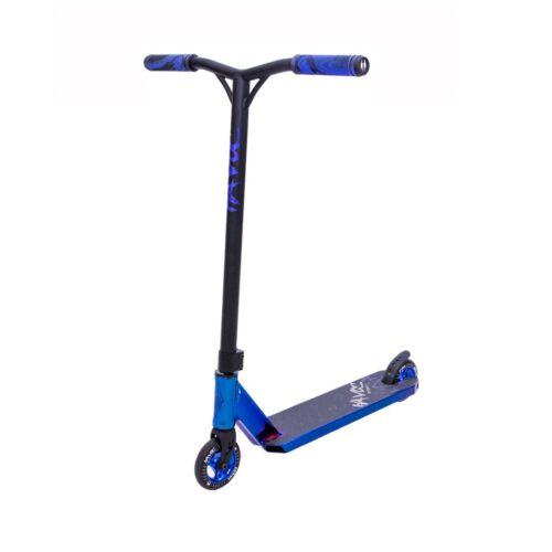 Havoc Storm Pro Kick Scooter Blue Oil Slick