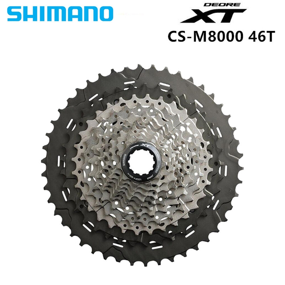 Shimano CS M8000 XT 11S Speeds 11-42T  11-46T MTB Bicycle Bike Cassette Freewheel  80% off