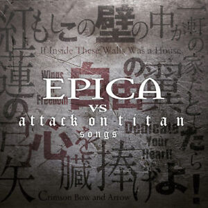 Epica-vs-Attack-on-Titan-Songs-EPICA-CD-limited-edition-on-dijipack