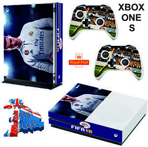 Faceplates, Decals & Stickers Xbox One X Fifa 18 Skin Sticker Console Decal Vinyl Xbox Controller