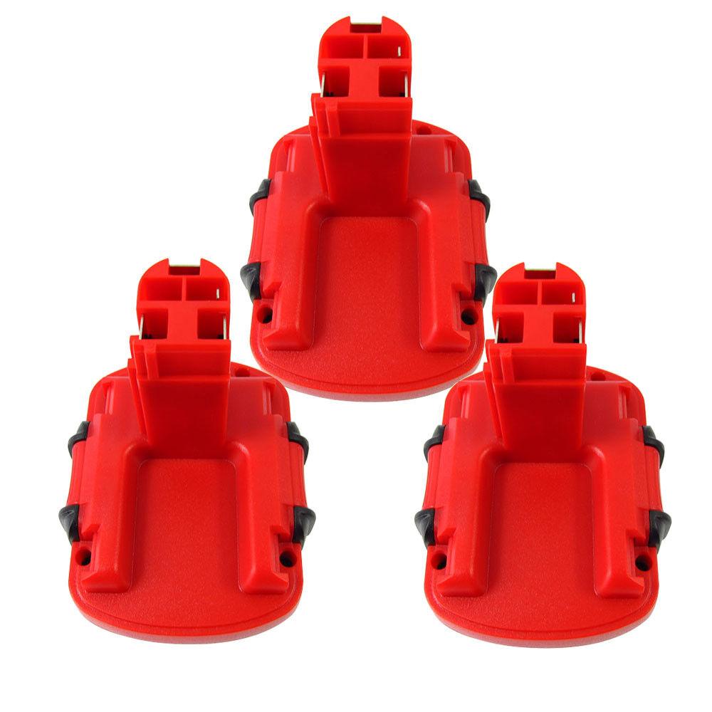 3x Ersatz Akku für Bosch GSB12VE-2, PSR12VE-2, PSB12VE-2, BAT043, 12V, 3000mAh