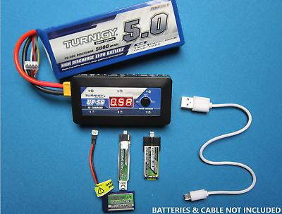 Turnigy Graphene 750mAh 1S 3.7V 65C 130C Lipo Battery Pack 2Pin Molex Connector