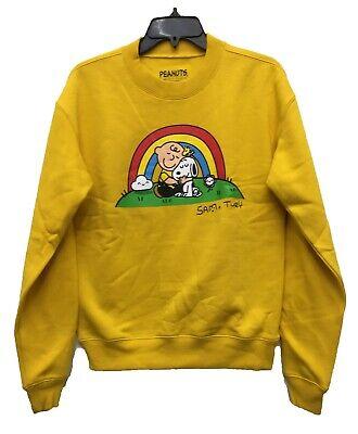 Charlie Brown Peanuts Retro Japanese Men/'s Sweatshirt