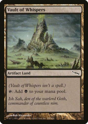 Vault of Whispers Mirrodin HEAVILY PLD Artifact Common MAGIC MTG CARD ABUGames