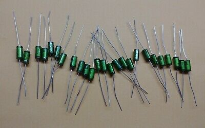 22uF 100V MKT arcotronics Audio Capacitors 3pcs