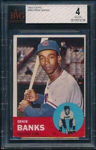 1963-Topps-Baseball-Ernie-Banks-380-BVG-4-CUBS-VG-EX-HOF