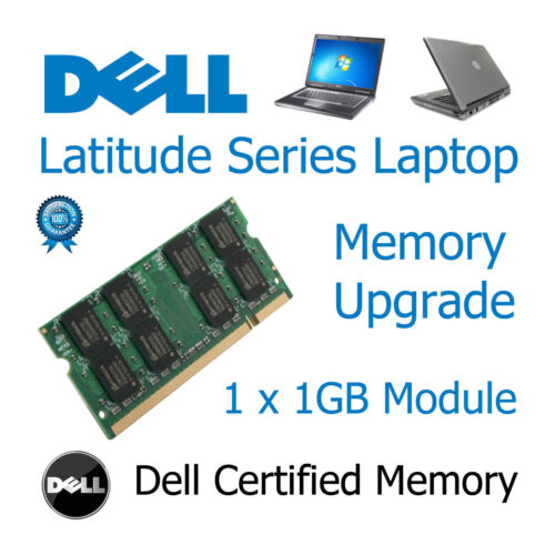 1GB Speicher RAM Upgrade Ersatz DDR2 200-Pin Sodimm Dell Latitude D610 Laptop