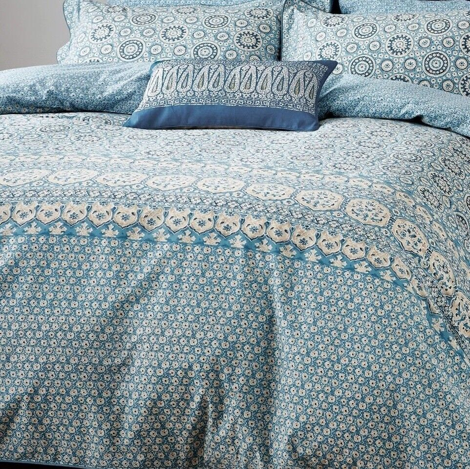 New AUTHENTIC V&A VICTORIA and ALBERT NEEV  king Duvet SET & 2 Pillowcases