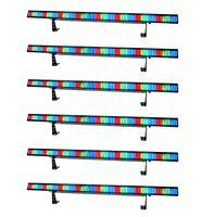 (6) Chauvet Colorstrip 4 Ch Dmx Led Rgb Dj Stage Novelty Light Color Strips on Sale