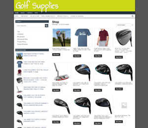GOLF-SUPPLIES-UK-WEBSITE-NEW-DOMAIN-ONE-YEARS-HOSTING-EASY-TO-RUN