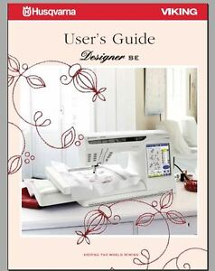 Users Guide CD//PDF in color Husqvarna Viking Huskylock 936 Instruction Manual
