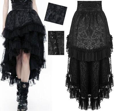 Jacke Gothic Punk Lolita Steampunk Burlesk Riemen Schnürung leder Punkrave rot