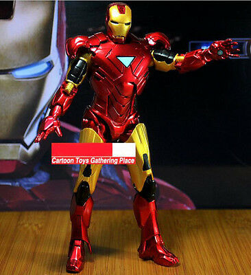 Marvel Avengers Iron Man 3 Figurine Mark 42 Tony Stark 8'' Action Figure Toy