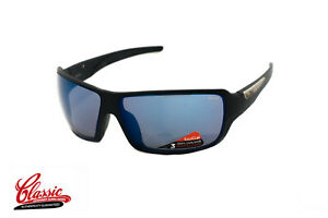 Bolle-Cary-12217-Matte-Black-Frame-with-Blue-Mirror-Lens-Mens-Sunglasses