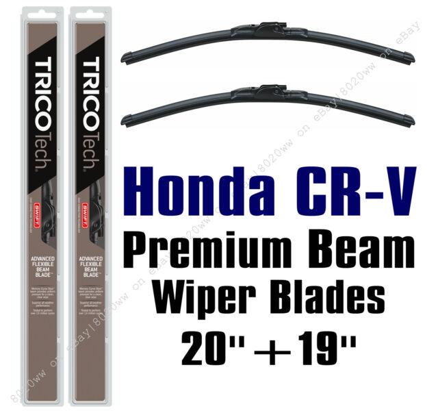 1997-2001 Honda CR-V CRV Premium Beam Wiper Blades 2-Pack