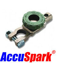 Battery Cut off and immobilizer switch  , green wheel . UK STOCK