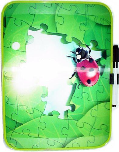 Trocken abwischbar Tafel mit Stift 3D Memoboard NEU