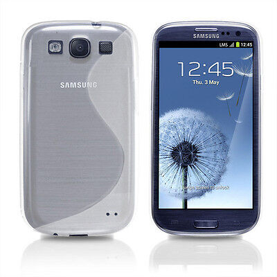 COQUE HOUSSE CASE GEL SILICONE S LINE SAMSUNG GALAXY S3 i9300