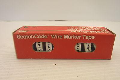 5 Scotchcode™ 3M Sdr Wire Marker Tape EACH  1 ROLL NIB SDR