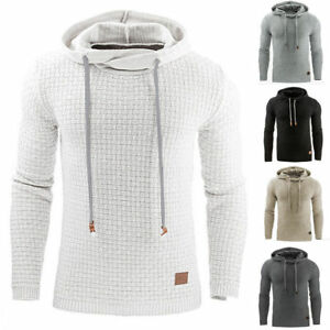 Men-039-s-Premium-Athletic-Soft-Sherpa-Lined-Fleece-UP-Hoodie-Coat-Sweater-Jacket