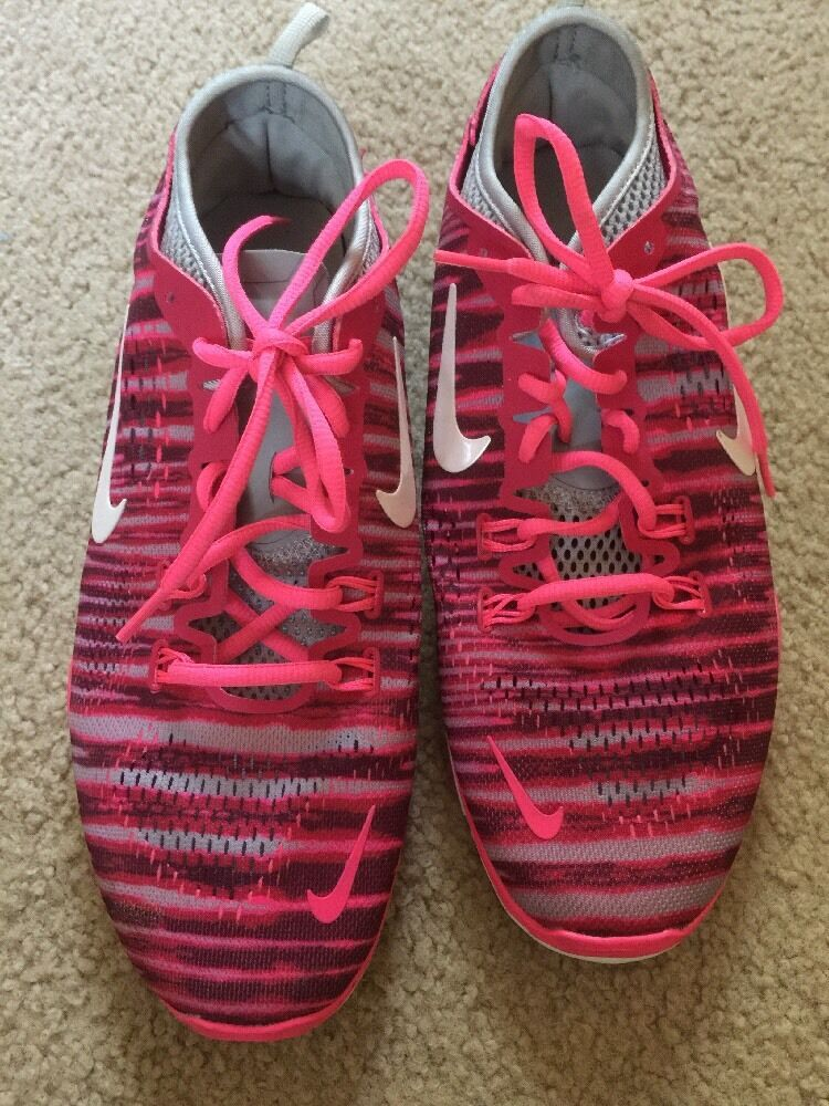 d6cc057144a ... Excellent Women s Nike Free Cross Training Shoes Fit 4 4 4 5.0 Fuchsia  Force 10 614814 ...