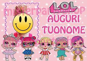 Cialda,Ostia,per,torte,Bambole,LOL,Surprise,con,